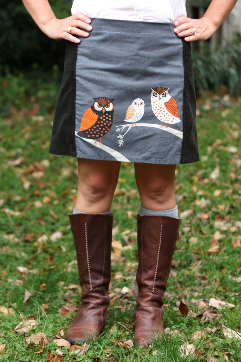 Owl skirt 6