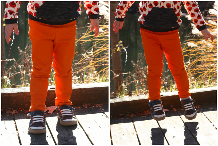 Orange hosh pants Collage