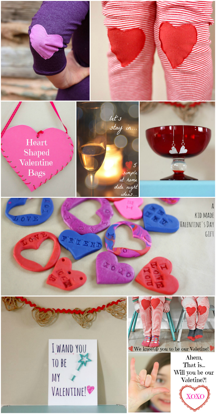 Valentine DIY ideas Collage