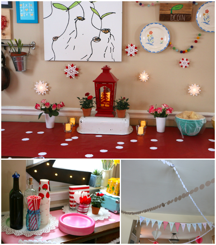Decorations collage