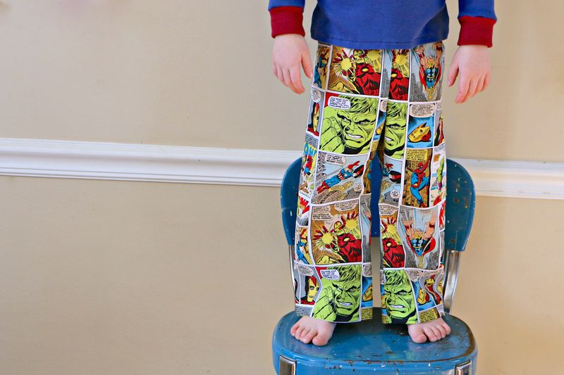 Comic book pjs2