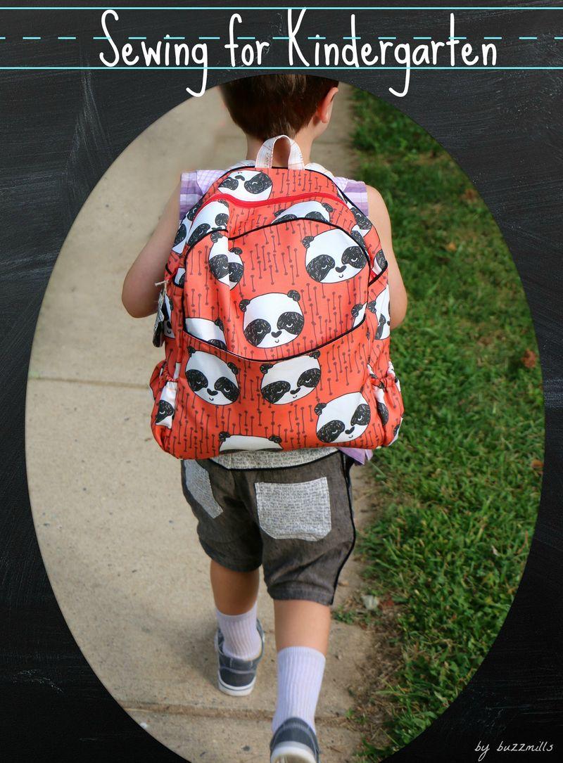 Sewing for Kindergarten