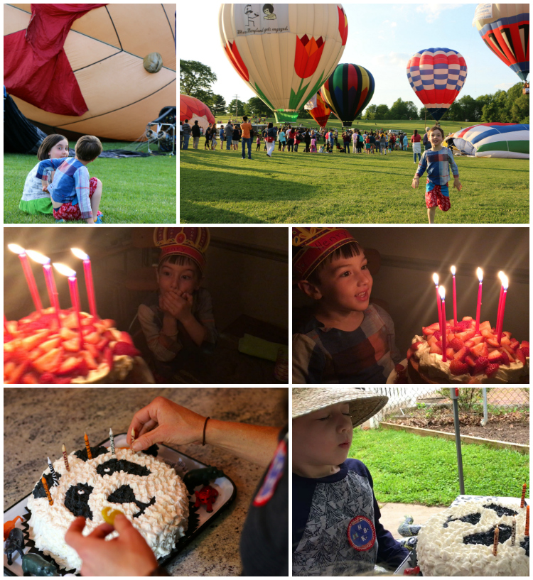 Henry birthday Collage
