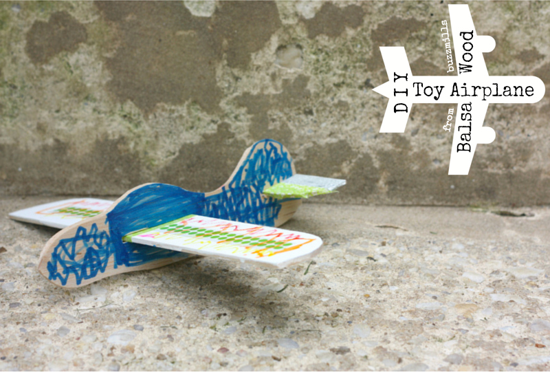 Toy airplane from buzzmills
