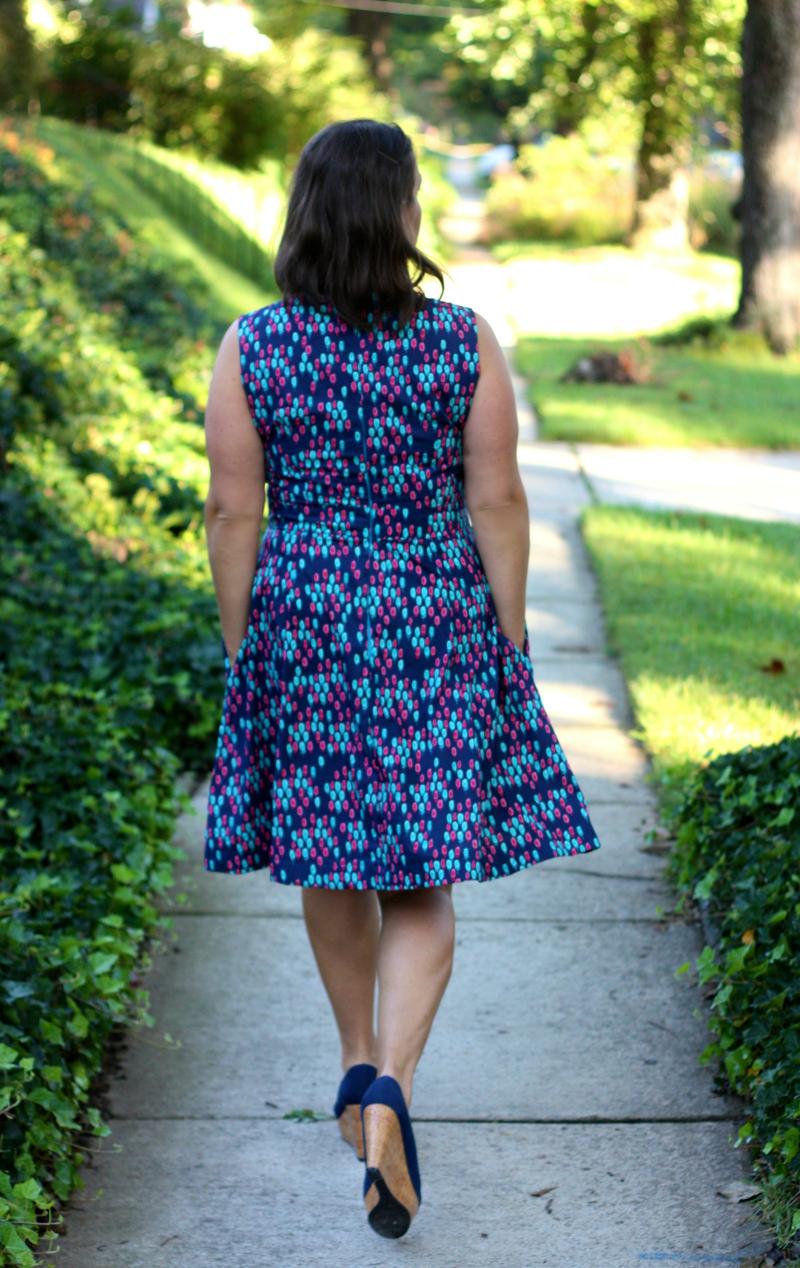 Odette walking