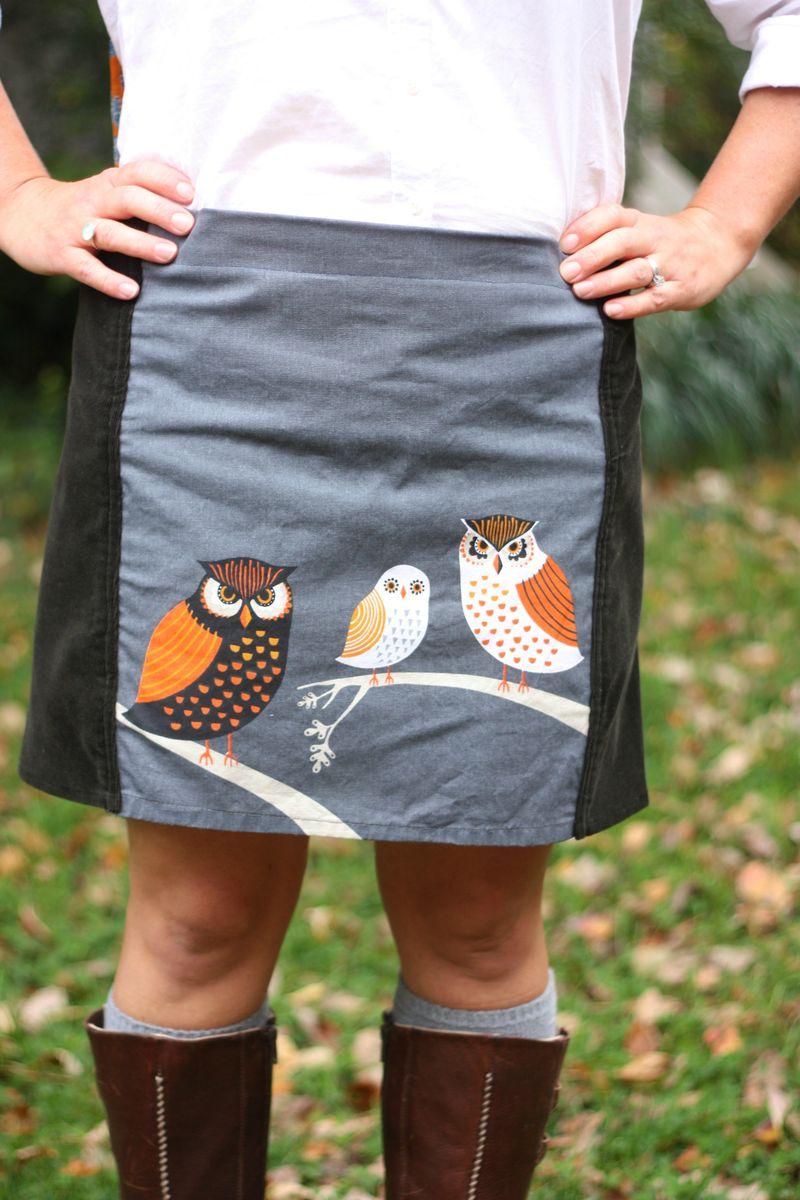 Owl skirt 5