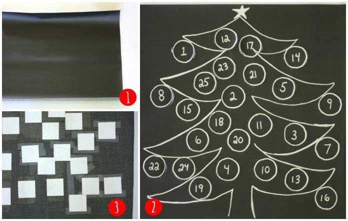 Advent calendar making2 Collage