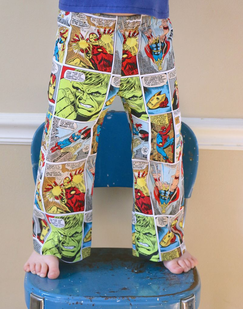 Comic book pjs