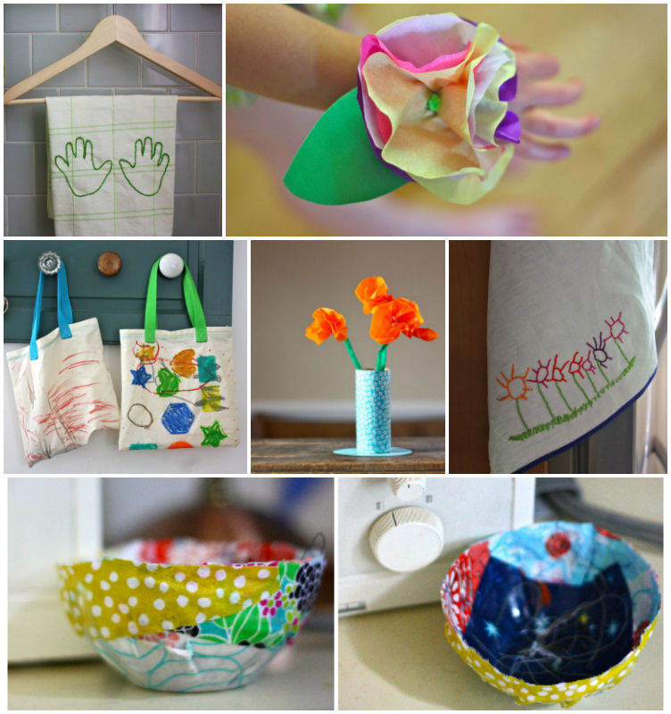 Mother's day ideas Collage