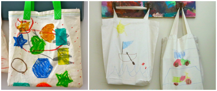 Tote bags Collage
