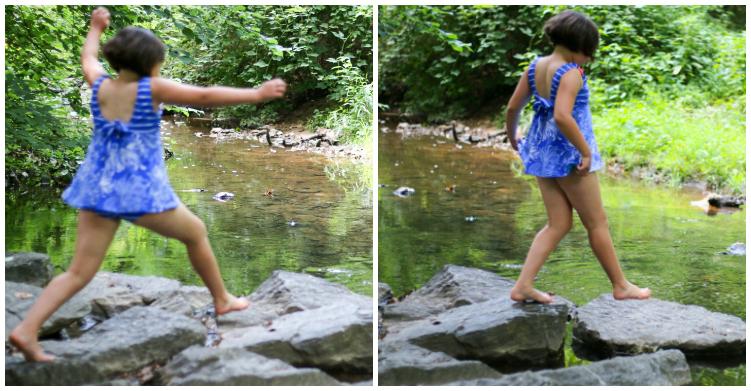 Creek adventuring