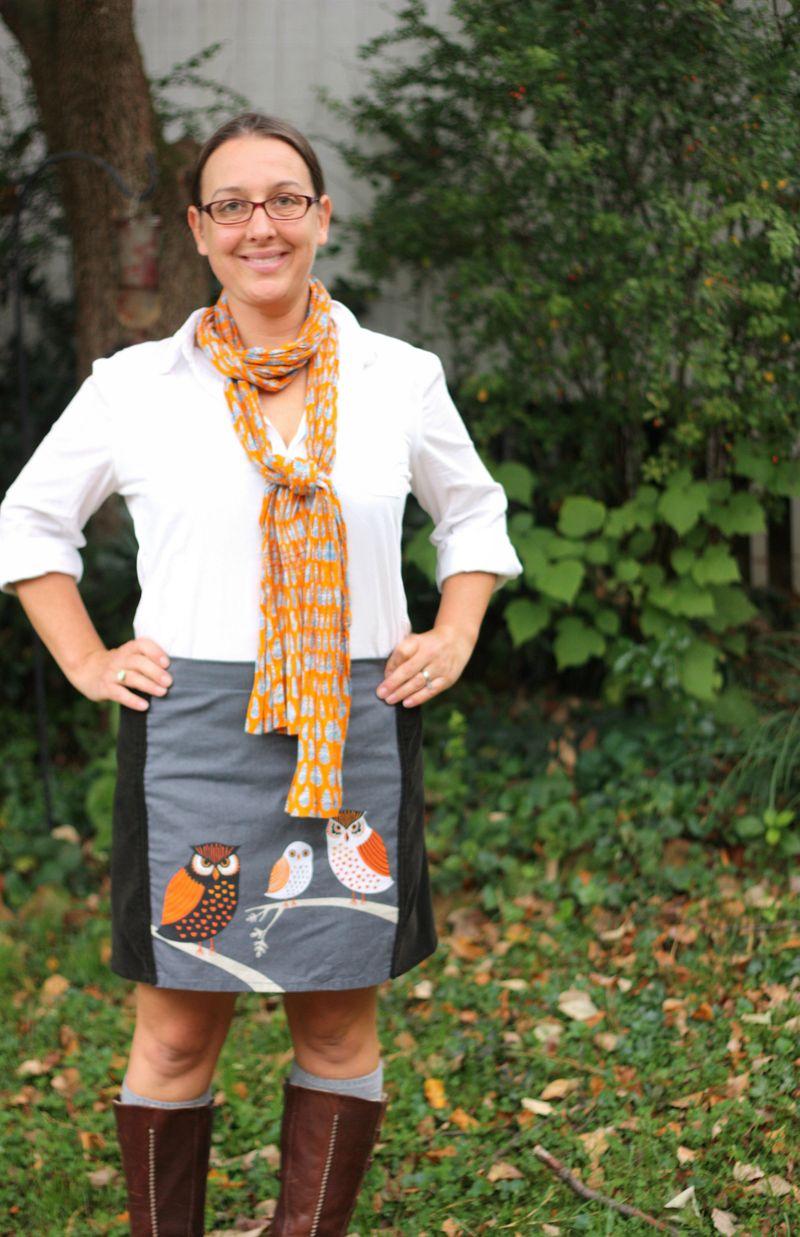 Owl skirt2