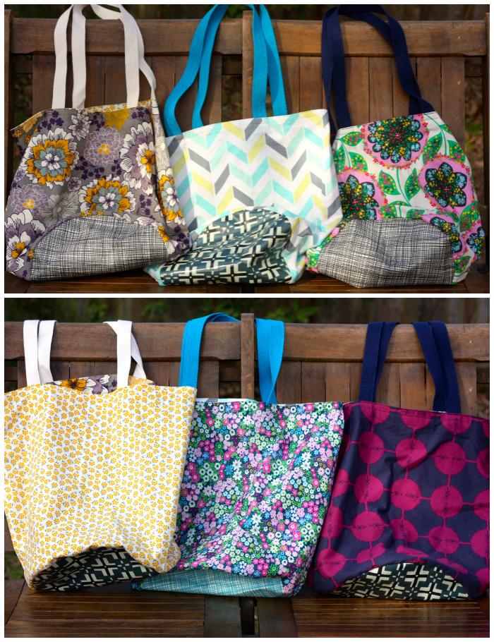 Market bag Collage