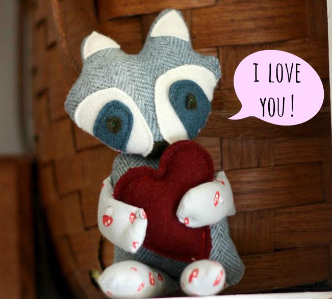 Racoon stuffy