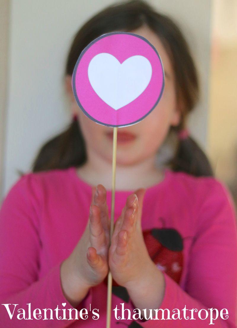 Valentine's thaumatrope