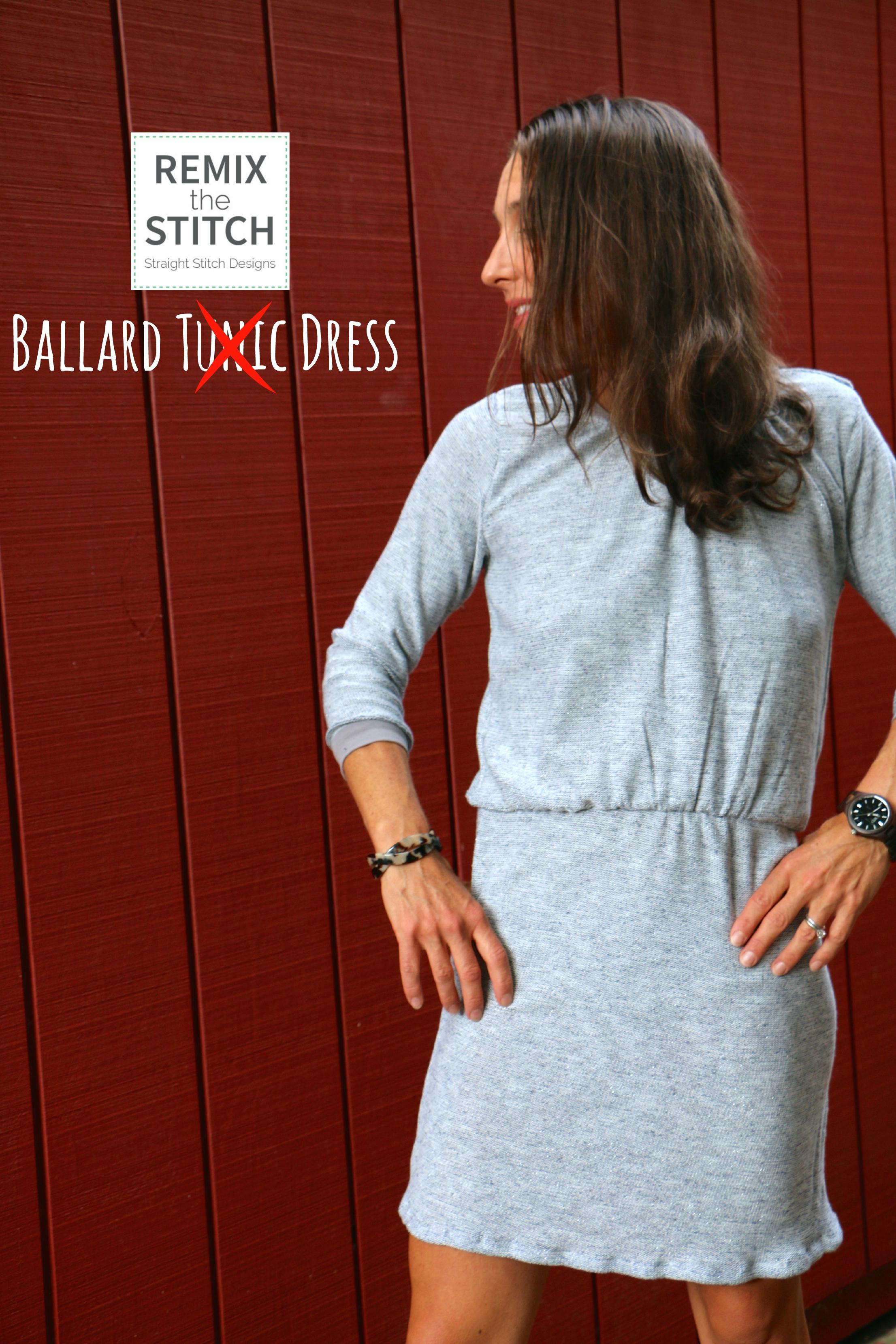 Remix the Stitch, Ballard Top to Dress    - Buzzmills