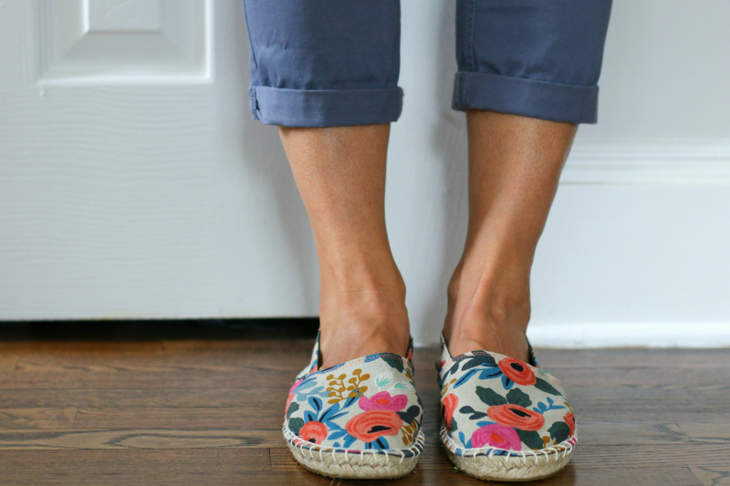 Espadrille front