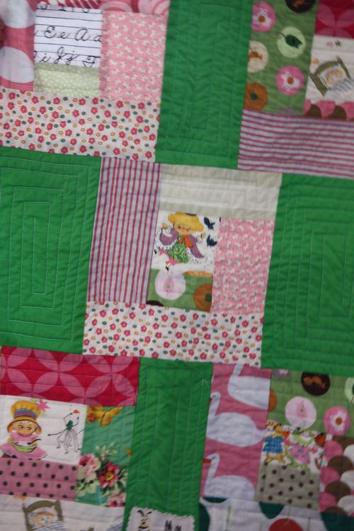 Small carseat quilt